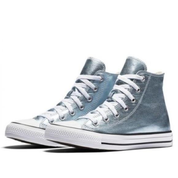 New Chuck Taylor Metallic Hitop Sneaker